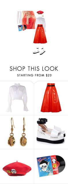 """I'll never be your dream girl"" by world-princess ❤ liked on Polyvore featuring GET LOST, Kenzo, Bottega Veneta, NOVICA, Karl Lagerfeld and Junior Gaultier"