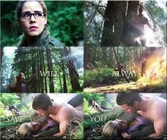 Arrow - Oliver & Felicity #Season2 #Olicity