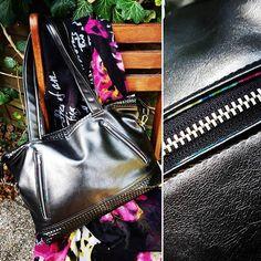 Caroline sur Instagram: Mon sac chouchou ! Le patron Java de Sacôtin. Simili et coton. #java #sacjava #sacotin #similicuir #lamerceriedescreateurs