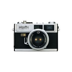 Minolta ❤ liked on Polyvore featuring fillers, camera, accessories, electronics, other and backgrounds