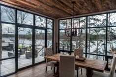 Modern Lake House-Christopher Architecture-15-1 Kindesign