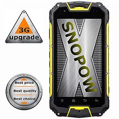 Snopow M9 Ip68 Waterproof Dustproof Shockproof Snowproof Rugged Outdoor Hiking 3g Unlocked Cell Phone Dual Sim Quad Core Android 4.4/ptt Walkie-talkie NFC OTG LED Torch Gps 4.5 Inch Smartphone(yellow) by SHENZHEN SNOPOW OUTDOOR TECHNOLOGY CO.,LTD, http://www.amazon.com/dp/B014ZYF6KU/ref=cm_sw_r_pi_dp_x_V5O9xbY815H0C