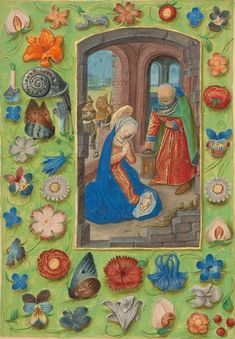 The Nativity,Master of the Dresden Prayer Book or workshop, about 1480-85?