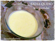 La cocina de Virtu: SALSA DE QUESO (microondas)