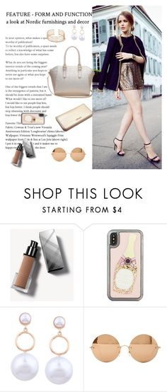"""""""0403-0618-Gd"""" by aitbags ❤ liked on Polyvore featuring Burberry, Kate Spade and Victoria Beckham"""