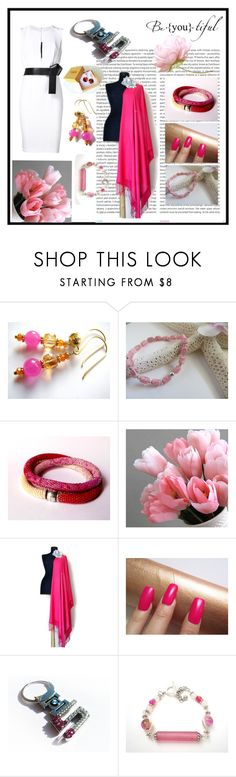 """Beautiful pink"" by torijaink ❤ liked on Polyvore featuring Oris, BMW, KaufmanFranco and etsy"