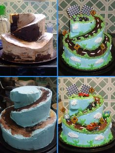 Two-tier Cars Cake                                                                                                                                                                                 More