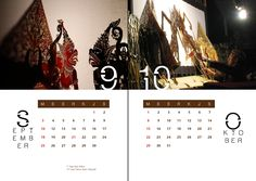 Layout Cover for Traditional Calendar