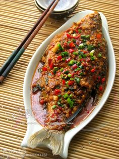Hong Shao Yu (braised fish with soy sauce)
