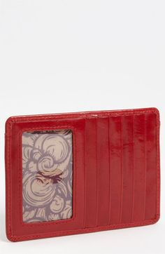 Hobo 'Euro Slide' Credit Card Case available at #Nordstrom