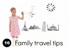 Kids travel: 16 top tips for family travel #kids #travel #parenting