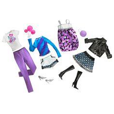 "Barbie Fashion Trend Set - Candy Trend Fashion - Black, White and Purple - Mattel - Toys ""R"" Us"