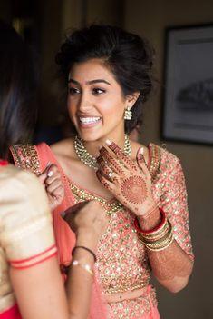 Photo - GooglePhotos Indian Bridal Makeup, Wedding Makeup, Seattle Wedding, Makeup Inspiration, Hair Makeup, Engagement, Google, Photos, Fashion
