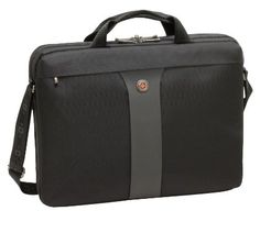 Lightweight and Checkpoint Friendly, the LEGACY Double Gusset Slimcase Is Sophisticated and Functional. Made by Wenger SwissGear, the Genuine Maker of the Swiss Army Knife. Notebook Sleeve, Notebook Case, Computer Sleeve, Computer Case, Laptop Cases, 17 Inch Laptop, Cool Bluetooth Speakers, Screen Size, Desktop Accessories
