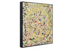 Pollock, Shimmering Substance, Framed (McGaw Graphics reprint)
