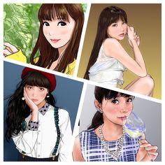 新川優愛さん(@yua_staff)まとめ① #似顔絵 #イラスト #モデル #グラビアアイドル #女優 #新川優愛 #caricature #illustration #portrait #model #bikinimodel #actress #yuashinkawa