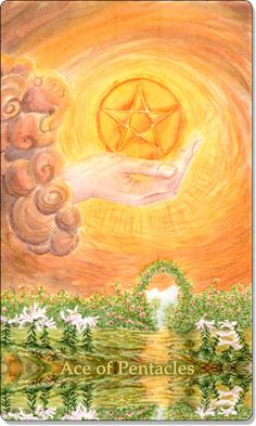 Ace of Pentacles Tarot Card - Meanings