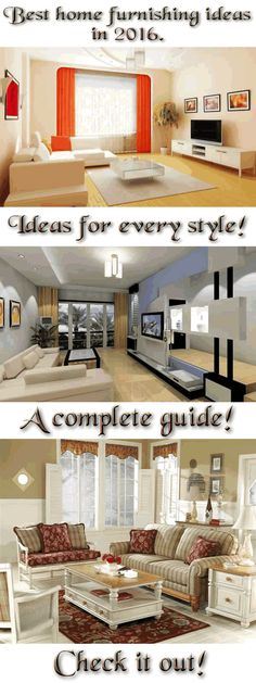 Delightful The Most Amazing Home Furnishing Ideas! A Complete Set Of Tips For Every  Design And