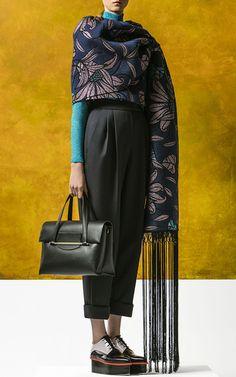 Delpozo Pre Fall 2016 Look 27 on Moda Operandi Looks Street Style, High Fashion, Womens Fashion, Delpozo, Material Girls, Mode Inspiration, Red Carpet Fashion, Fashion Outfits, Fashion Trends