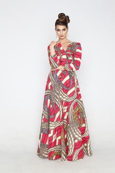 Kaela Kay - Kenya Efe Dress, ~African fashion, Ankara, kitenge, African women dresses, African prints, African men's fashion, Nigerian style, Ghanaian fashion ~DKK