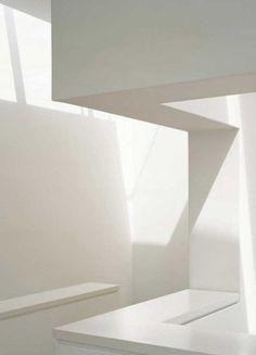 Modern white wall  The Clocksmiths Mood
