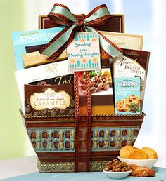 Get Well Soon! Healing Thoughts Gift Basket #healingthoughts #getwellsoon #giftbaskets
