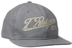 $70, True Religion Denim Baseball Cap. Sold by Amazon.com.