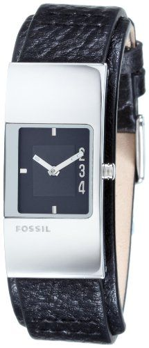 $64.95 + Free Shipping Fossil Women's Modern Cuffed Leather Watch