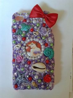 Ariel The Little Mermaid Phone Case by CandyAndDiamonds on Etsy, $34.00