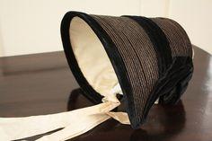 1836 Quaker straw bonnet | Flickr - Photo Sharing