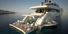 Luxurious yatch..