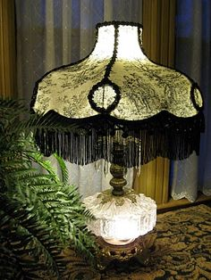 vintage lamp shades - Google Search