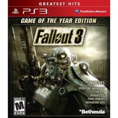 Fallout 3: Game of The Year Edition. My current favorite game for the modern systems.