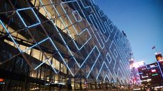 confederation of danish industry headquarters interactive LED facade - kollision + martin professional + transform