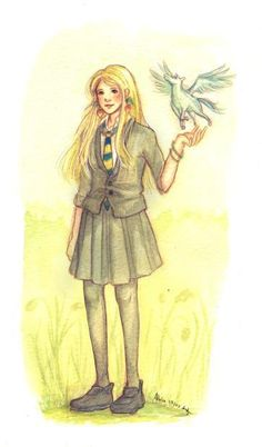 ImageFind images and videos on We Heart It - the app to get lost in what you love. Harry Potter Sketch, Harry Potter Girl, Lily Potter, Harry Potter Fandom, Harry Potter Characters, Luna Lovegood, Ravenclaw, Severus Rogue, Fantastic Beasts And Where