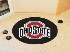 """Ohio State University Puck Mat 27"""""""" diameter"""