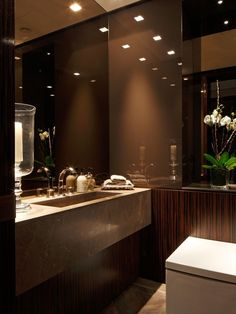 Faboulous modern contemporary Bathroom Design.Marble Glass Stone Wood grain. Kensington Place, Kensington