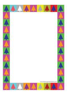 free printable festive border