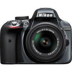 Nikon D3300 DSLR (with AF-S 18-55mm VRII Kit Lens)