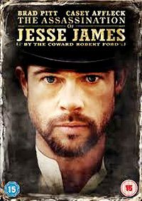Kansas City, Blue Cut Missouri, 7 - 9 - 1881,  Jesse James acaba de cumplir 34 años de edad, e intenta dar su ultimo golpe. Andrew Dominik, 2007 con Brad Pitt, Casey Affleck...