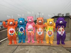 Care Bears for one cartoon mascot costume High quality fancy dress foreign trade…