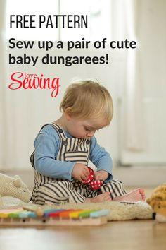 Free Baby Dungarees Pattern!