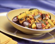 Summer Vegetable Curry - To make this recipe gluten free, use only spices or condiments that are gluten free