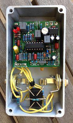 inside a diy distortion with w mpler mods diy guitar pedal builds in 2019 diy guitar pedal. Black Bedroom Furniture Sets. Home Design Ideas