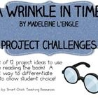 "A set of 12 project challenge assignments, one for each chapter of the book, ""A Wrinkle in Time"", by Madeleine L'Engle.  Students can work on a few..."