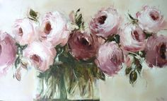 Some more roses - 91x152cm - Nicole Pletts