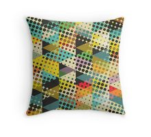 Dots and Triangles II Throw Pillow