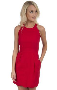 The Landry Solid Seersucker Dress