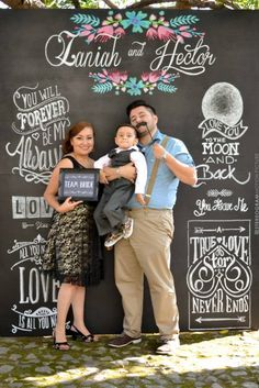 Chalkboard; Photobooth backdrop