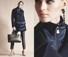 Amazing cool coat and look from Cinzia Rocca